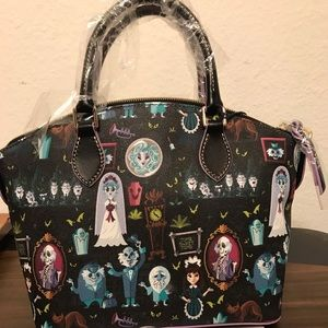Disney Dooney & Bourke Haunted Mansion Satchel